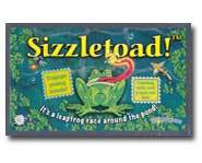 We review the new Sizzletoad board game!