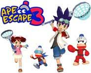 We review the monkey-catching action of Ape Escape 3 for the Playstation 2!