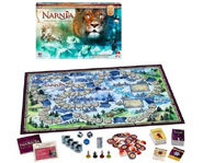 Picture of the Chronicles of Narnia: The Lion, The Witch and the Wardrobe board game.