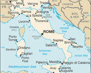 Check out maps, facts and info on Italy.