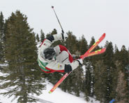 Photo of US Olympic skier, Toby Dawson.