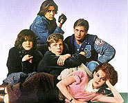 Catch Molly Ringwald, Judd Nelson and Emilio Estevez in The Breakfast Club.