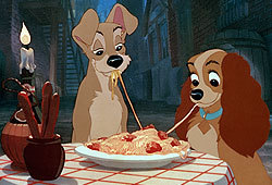 You can now own Lady and the Tramp on DVD!