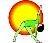 Yoga is a great way of improving balance, relieving stress and strengthening your body.