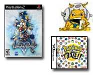 Get the latest video game news on Pokemon Trozei and Kingdom Hearts II right here!