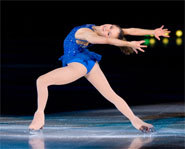 Photo of US Olympic figure skater, Sasha Cohen.