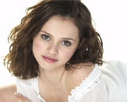 Picture of US Olympic figure skater, Sasha Cohen.