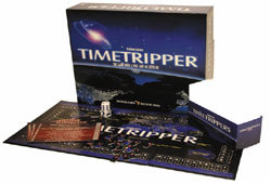 Timetripper is a family board game that tests players' knowledge of historical events.