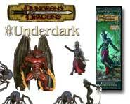 We review the Dungeons & Dragons Miniatures: Underdark expansion set full of evil elves, spiders and monsters!