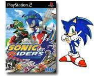 Get the 411 on the high-speed Sonic Riders racing game for Gamecube, PS2 and Xbox with our review!