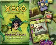 Xeko Mission: Madagascar is a kids' trading card game based on the species of Madagascar.
