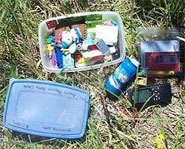 Picture of a geocache.
