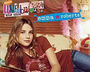 Emma Roberts is the star of Unfabulous.