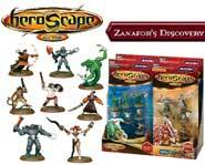 We review the Zanafor's Discovery set for the HeroScape board game of fantasy battles!