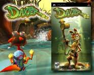 We review the action-packed Daxter video game for the Sony PSP!