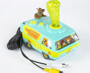 Picture of the Jakks-Pacific Scooby Doo Plug And Play TV Game.