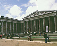 This is the outside of the British Museum, one of the world's best.
