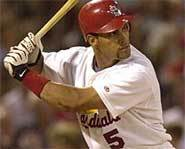 Picture of Albert Pujols of the St. Louis Cardinals.