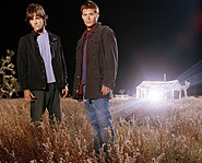 Jared Padalecki and Jensen Ackles star as Sam and Dean Winchester.