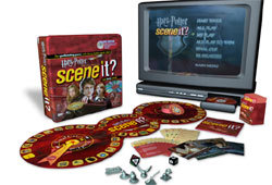 Picture of Harry Potter Scene It? DVD trivia game.