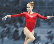 Picture of 2004 Olympic gold medalist, Carly Patterson.