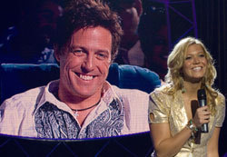 Mandy Moore and Hugh Grant star in the political satire, American Dreamz.