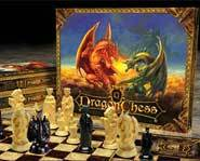 We review the new 2-games-in-1 Dragon Chess board game!
