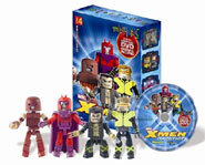 Picture of X-Men Minimates action figures.