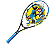 Picture of the Wilson Venus & Serena  Junior Tennis Racquet.