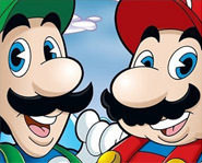 Mario and Luigi are now on DVD in their show, The Super Mario Bros. Super Show!