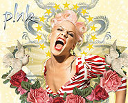 Pink's new album, I'm Not Dead, features the song Stupid Girls.
