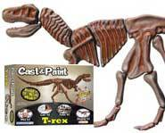 We review the dinosaur-skeleton building Cast & Paint T-Rex kit!