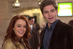 Lindsay Lohan and Chris Pine star in Just My Luck.