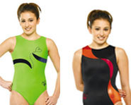 Gymnastics leotards from GK Elite Sportswear.