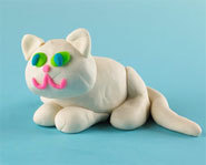 Picture of Play-Doh sculpture.