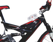 Photo of the i-Ride bicycle stereo from Active Tunes.