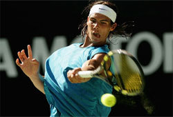 Rafael Nadal is the defending French Open mens singles champion.