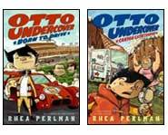 We review Otto's adventures in the Otto Undercover books: Born to Drive and Canyon Catastrophe