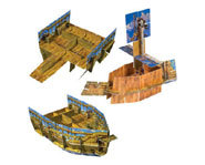 Build your own pirate ship with Klutz's How To Build A Pirate Ship build cards.
