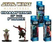 We review the lightsaber-packin' horde of Jedi and Sith in the Star Wars Miniatures: Champions of the Force expansion set.