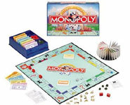 Picture of the board game, Monopoly.