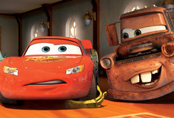 Cars is the latest movie put out by Disney and Pixar.