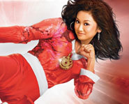 Brenda Song stars in the Disney Original Movie, Wendy Wu: Homecoming Warrior.