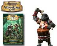 We review the War Drums expansion for the D&D Miniatures game of fantasy battles!