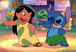 You can now catch Lilo & Stitch on DVD.
