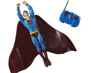 Picture of the Flying Superman remote-controlled action figure.