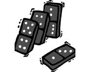 Check out info on the history, rules and strategy of dominoes.
