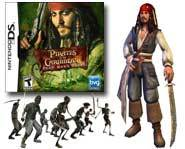 We review Captain Jack Sparrow's adventures on the Nintendo DS in the Pirates of the Caribbean: Dead Man's Chest video game!