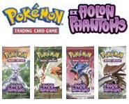 We review the EX Holon Phantoms set for the Pokemon card game!