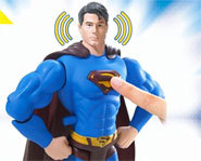 Picture of the Superman Returns Ultimate Powers action figure.